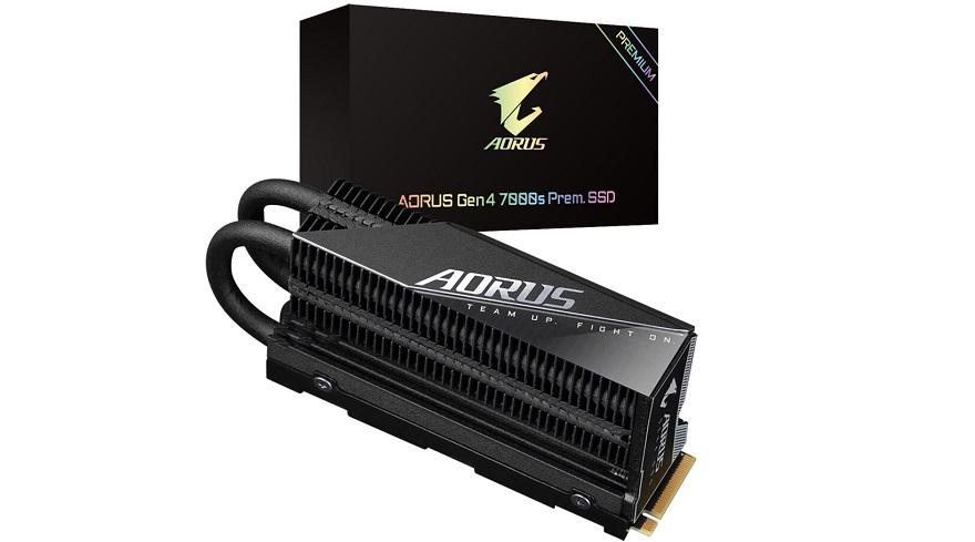 Gigabyte High-Performance AORUS Gen 4 7000s Prem. SSD Revealed