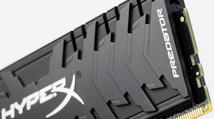 HyperX Announces New High-Speed Predator DDR4 Memory