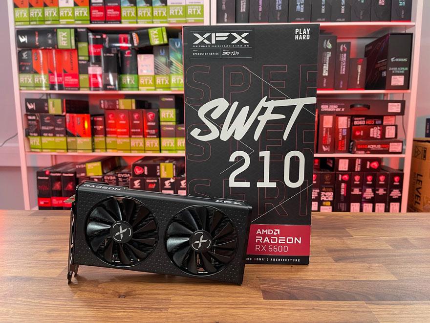 XFX RX 6600 Swift 210 3