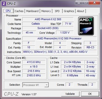 AMD Phenom II X2 560 Black Edition AM3 Processor Review