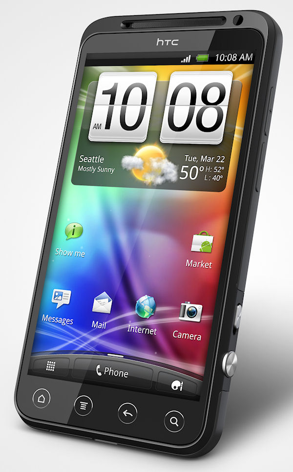 HTC launches 3D phone