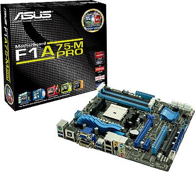 Asus F1A75-M Pro Llano Motherboard Review   eTeknix