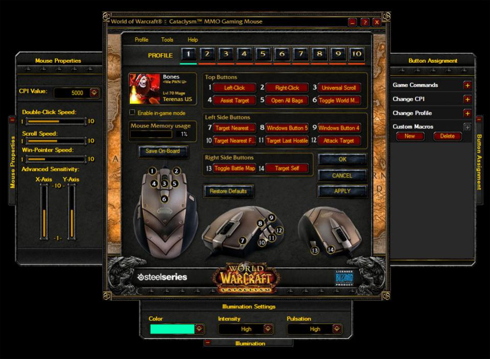 SteelSeries WoW: Cataclysm MMO Gaming Mouse Review | eTeknix