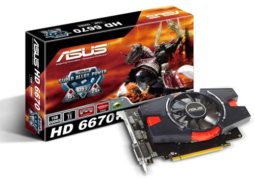 Asus Radeon HD 6670 1GB Graphics Card Review 1