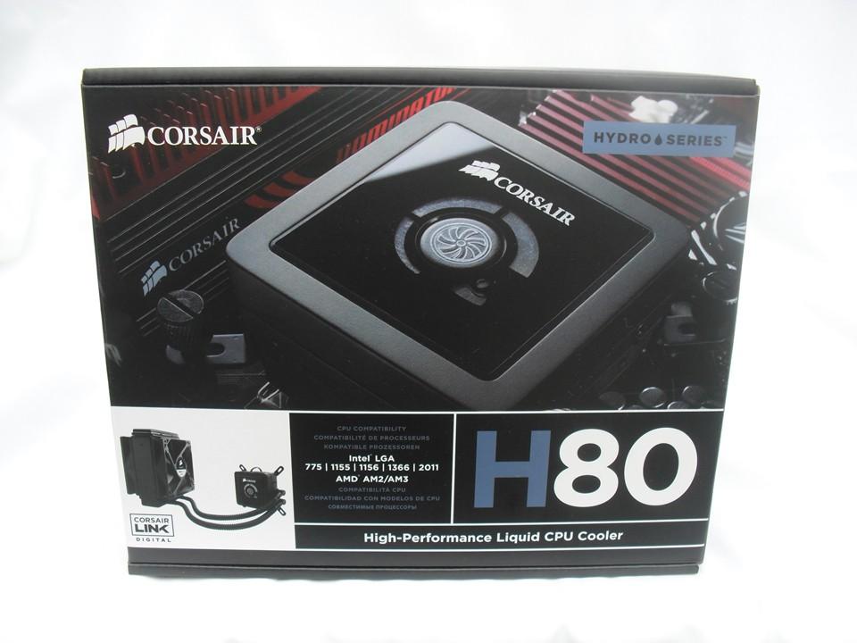 Обзор Corsair Hydro H80