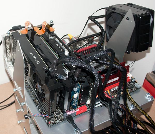 3-way CrossFireX тест Radeon 6950