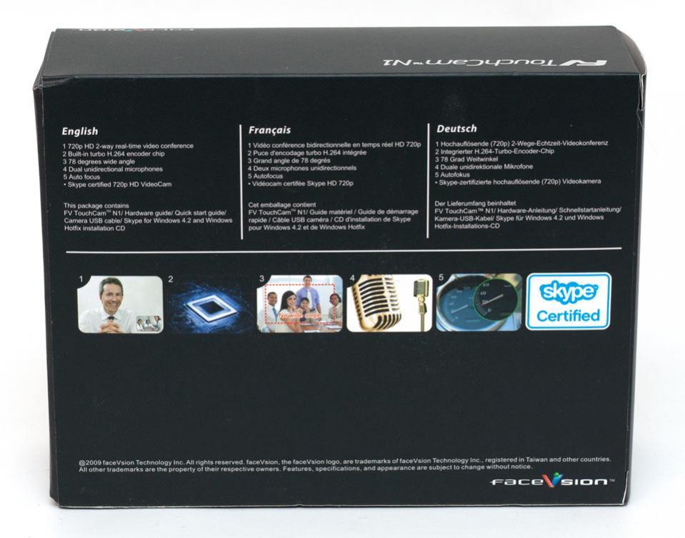 faceVsion Touchcam N1 HD webcam | Page 2 of 7 | eTeknix