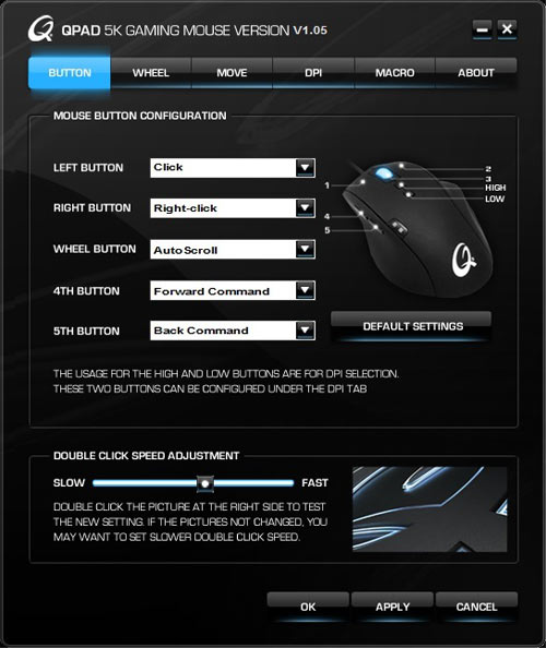 Qpad 5K Pro Gaming Laser Mouse Review | Page 5 of 8 | eTeknix
