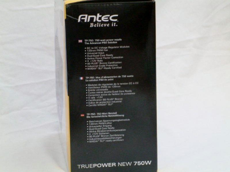 Antec Truepower New 750w Power Supply Unit Review Page 7
